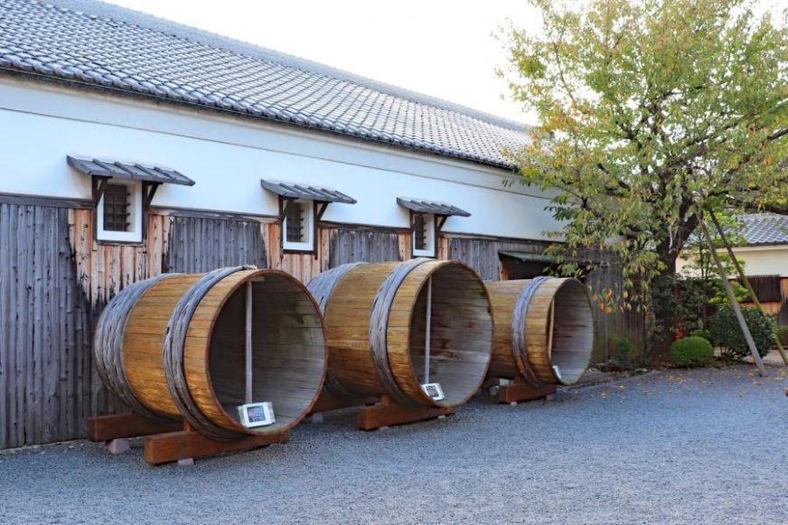 月桂冠的釀酒廠