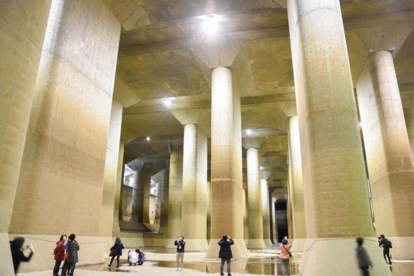 地下神殿調壓水槽