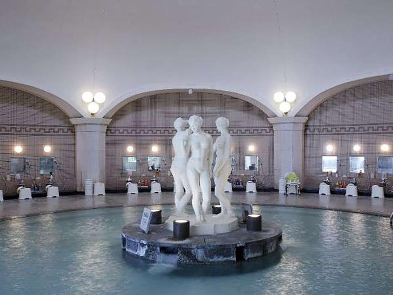 「NOBORIBETSU GRAND HOTEL」大浴場