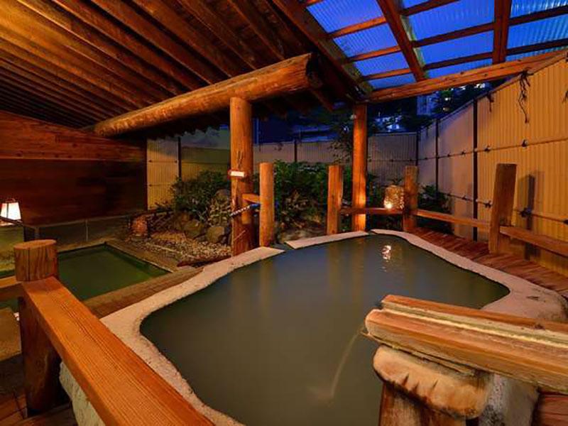 ZAO Uta-no-yado WAKAMATSUYA 浴池