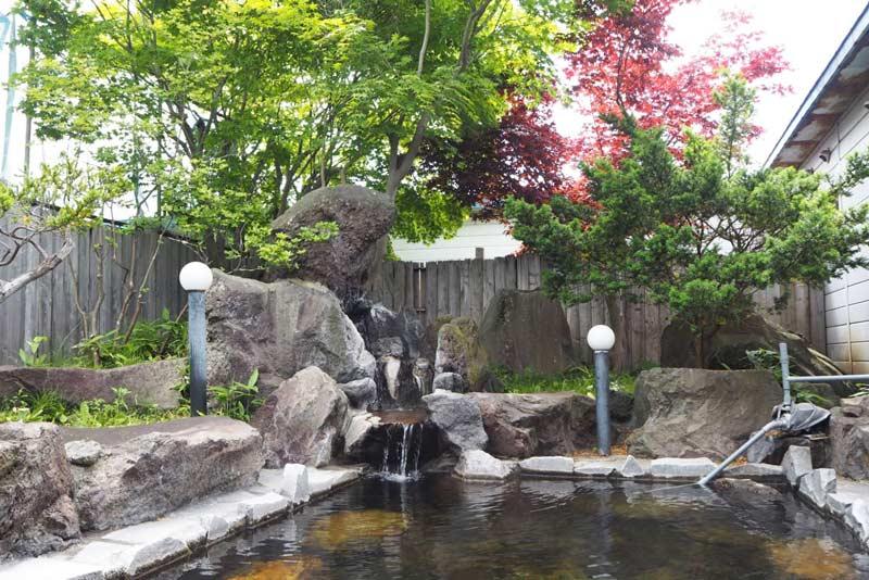虎杖濱溫泉飯店的露天溫泉