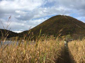 榛名湖畔的榛名富士