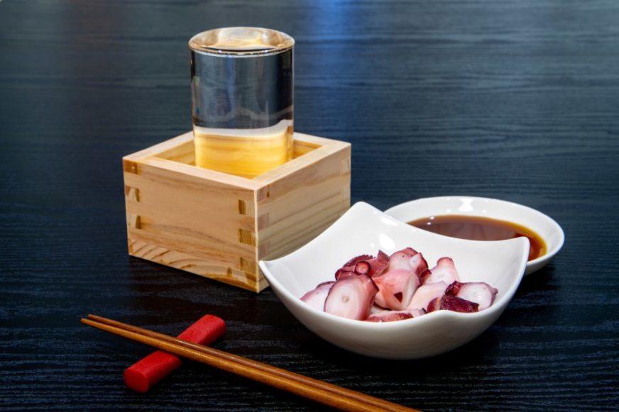 日本酒與章魚