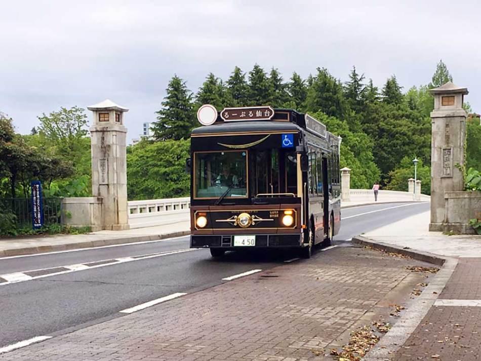 搭觀光路線巴士「Loople仙台」帶你吃喝玩樂一整天