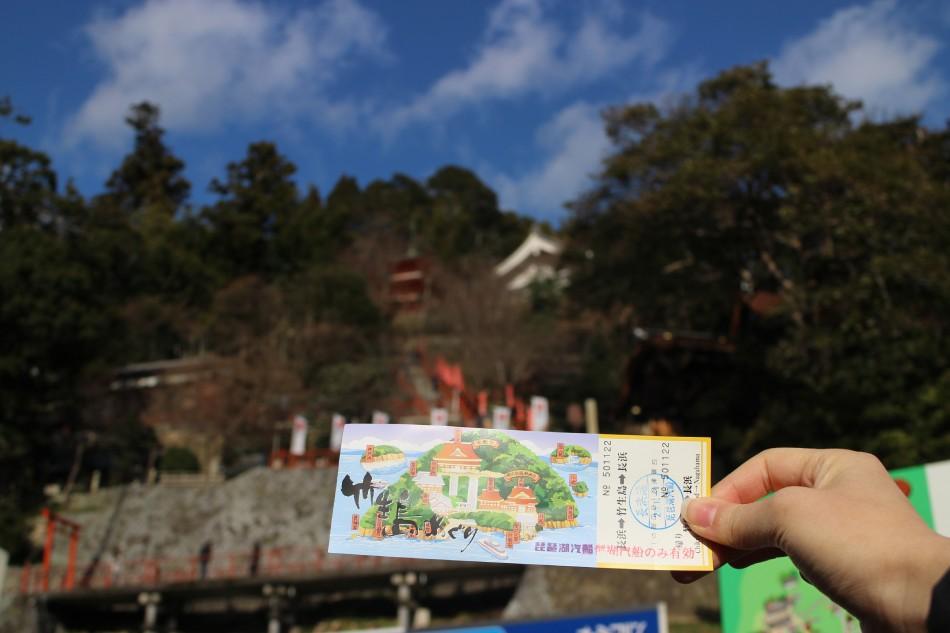 【滋賀】神棲之地——竹生島登島神秘巡禮