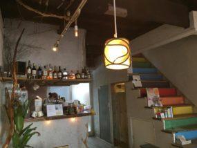 「Cafe Fluorite」的店內