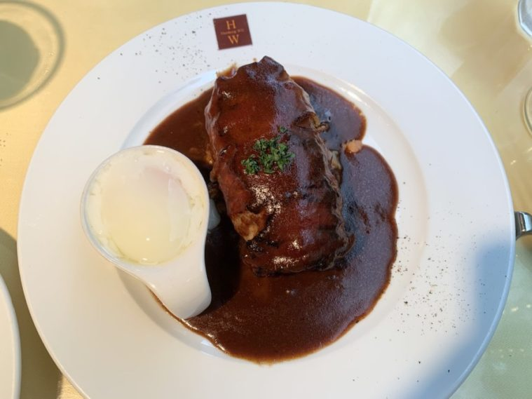 Hamburg Will的招牌Pancetta Bacon漢堡排