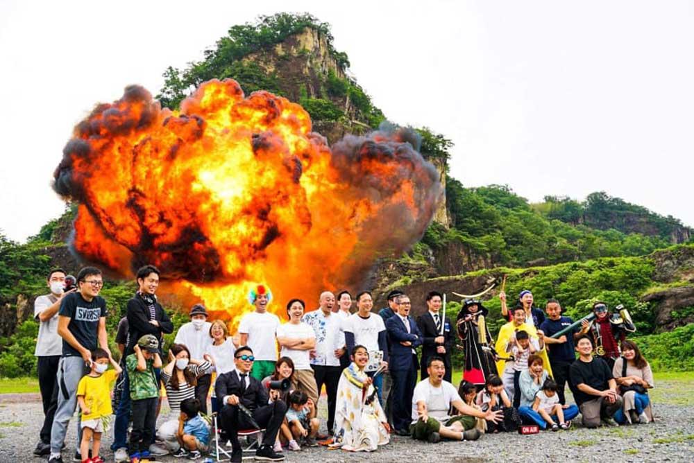 日本英雄戰隊爆破聖地打卡! 「岩船爆破體驗之旅」魅力大公開
